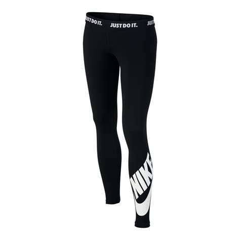 imagenes de mallas nike girls nike sportswear leg a see black legging intersport uk