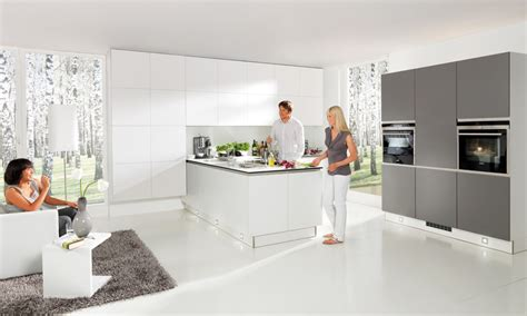 Shaker Door Kitchen Cabinets grey amp white matt kitchen in a contemporary true