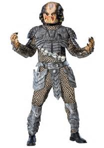 halloween mask and costumes deluxe predator costume