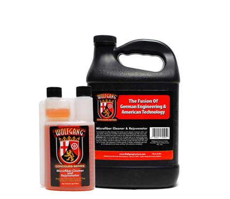 Best Microfiber Cleaner by Wolfgang Microfiber Cleaner And Rejuvenator Gallon 16 Oz
