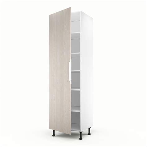 meuble colonne de cuisine meuble de cuisine colonne d 233 cor bois 1 porte nordik h 200