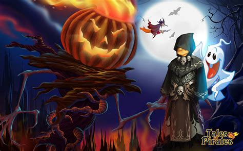 imagenes en movimiento halloween tales of pirates halloween wallpapers