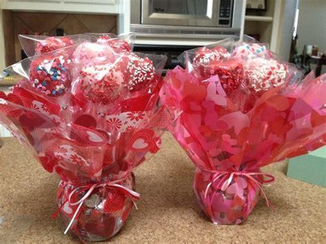 cake pop bouquet valentines