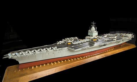 model  uss enterprise aircraft carrier