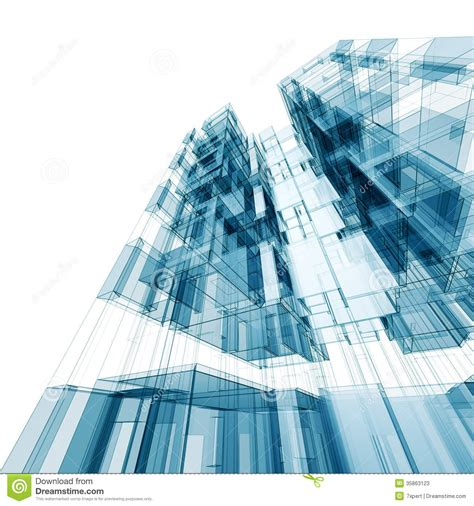 imagenes vectores de arquitectura abstract architecture stock illustration image of modern