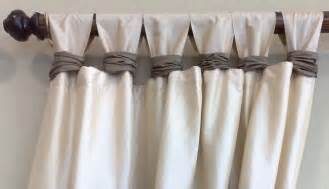 Tab Top Button Curtains Curtains Silver Thread Interiors