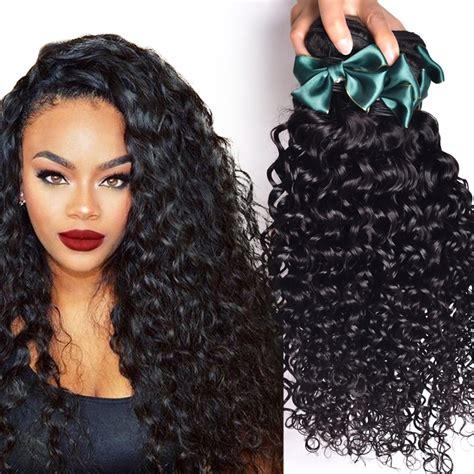 brazilian virgin hair water wave  bundles brazilian curly