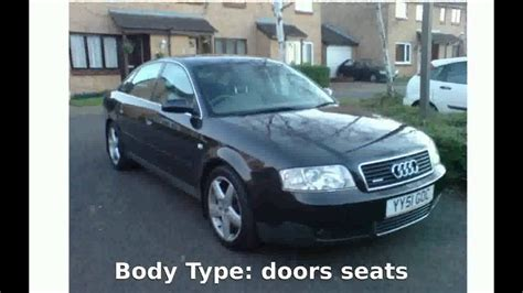 Audi A6 Acceleration by 2001 Audi A6 Avant 2 7 T Quattro Specification Speed