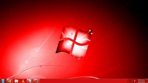 visor imagenes windows 10 windows 7 red edition tema rojo para windows seven