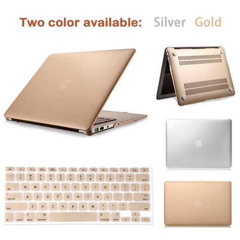 Supplier Gloria By Aple sale luxury gold sliver matte laptop cover for macbook pro 13 15 retina air 11 13