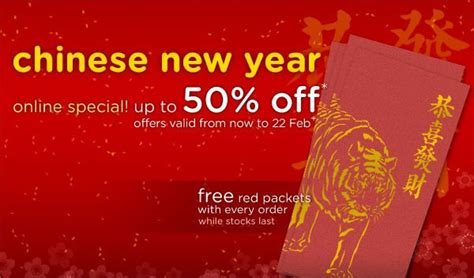 new year promo singapore crocs new year promotion great deals