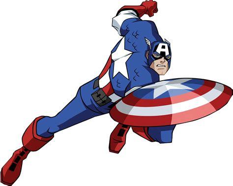 cptain america free comic clipart capitan america vector clipart best