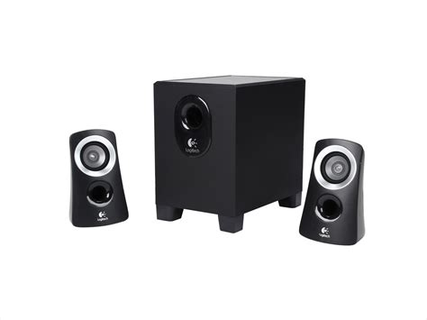 Logitech 2 1 Speaker Z313 refurbished logitech z313 25 watts 2 1 speaker system