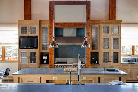 wire mesh for cabinets big sky residence mesh kitchen cabinet banker wire project