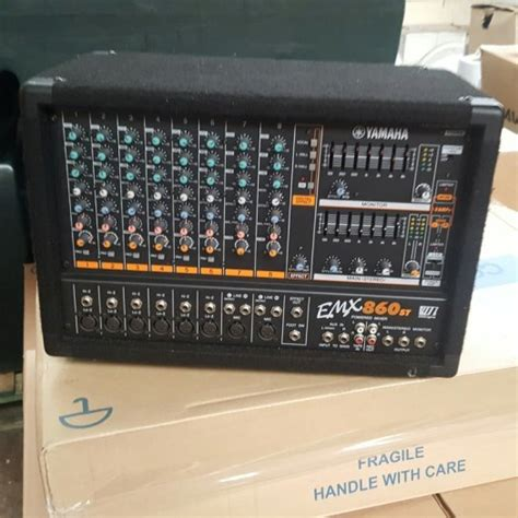 Powered Mixing Desks For Sale by Yamaha Emx 680 Powered Mixing Desk For Sale In Waterford