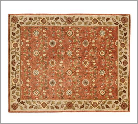 New Pottery Barn Handmade Persian Millie Area Rug 8x10 Pottery Barn Rugs