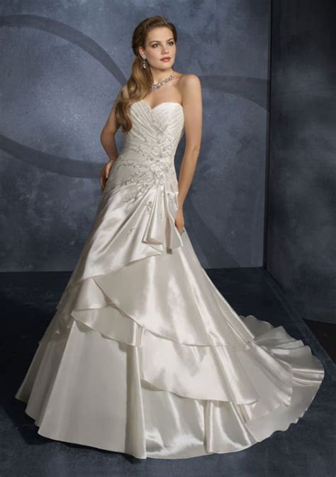 deutsche brautkleider free shipping selling satin wedding dress backless