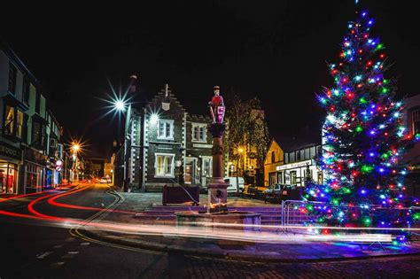 north wales christmas lights switch ons daily post