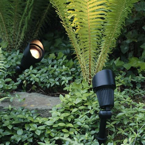 Outdoor Garden Spike Lights Play Focus 12v 3w Mr16 Spotlight Spike Outdoor Light Qvs Electrical Wholesalers