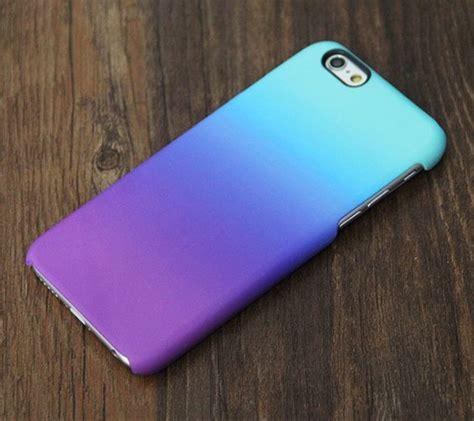 Iphone 7 Plus Bumper Pastel Color Back Soft Cover Casing violet turquoise pastel iphone 6s 6 tough 6s plus
