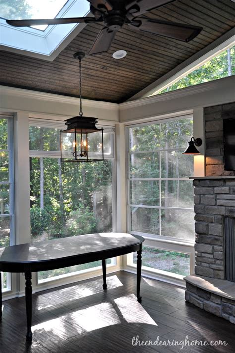 The Endearing Home by Turning Our Back Porch Dreaming Into A Reality Part 4