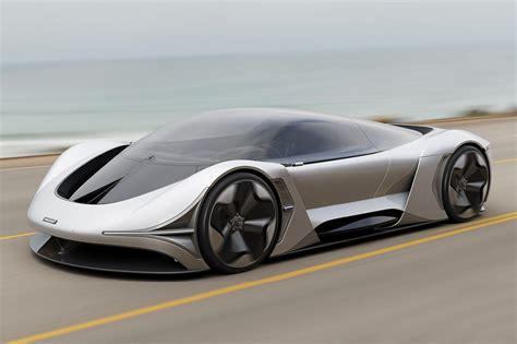 mclaren design language   electric car potential carbuzz