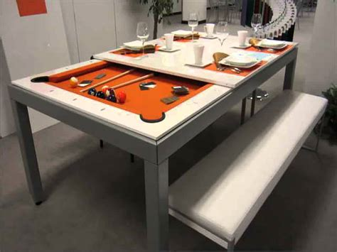 Pool Table As A Dining Table Pool Table Dining Table Combo