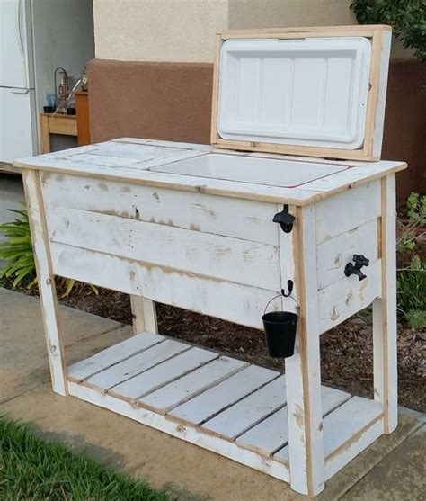 Diy Patio Cooler Stand by 25 Best Ideas About Wooden Chest On