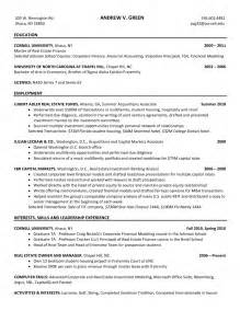 resume for internship at goldman sachs 1
