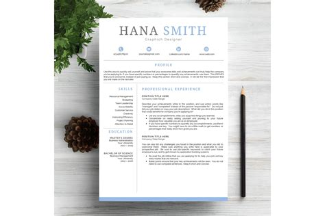Chic Resume Template Cv By Prototype St Design Bundles Chic Resume Templates