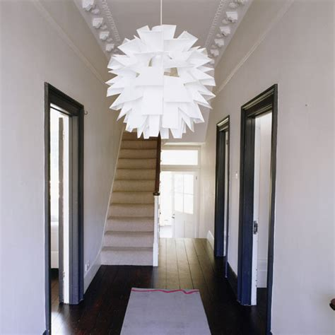Modern Hallway Decorating Ideas by Narrow Thinking Modern Maggie