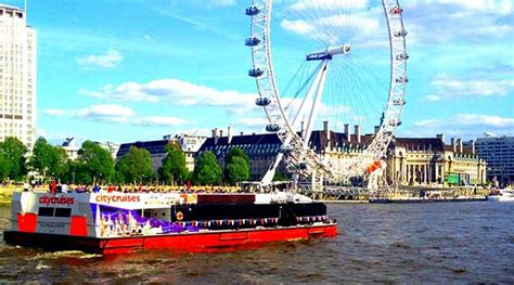 cruise along thames river london boat trips on the thames and nearby landmarks