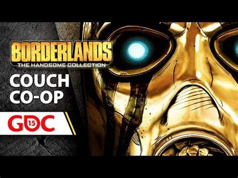 what is couch co op couch co op and tons of dlc in borderlands the handsome