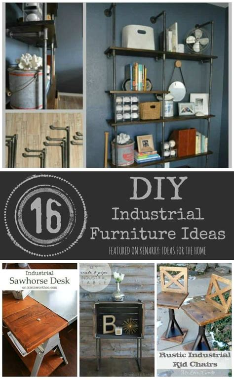 decorative home furnishings industrial furniture 16 diy metal home decor ideas
