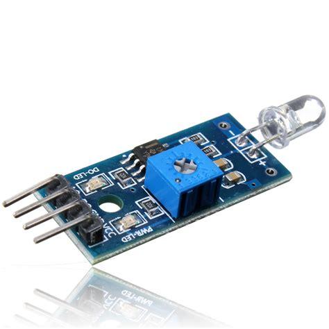 photodiode module arduino 4pin photodiode photosensitive detection sensor module for arduino 51 avr pic ebay