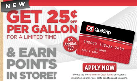 Qt Gift Card - quiktrip credit card review up to 5x back in store doctor of credit