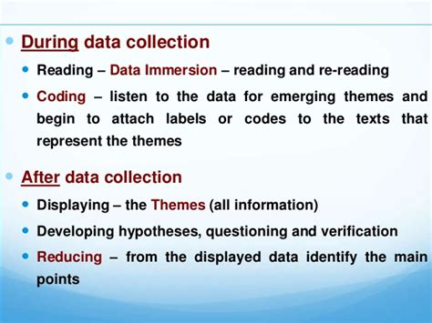 qualitative research developing themes qualitative research second copy corrected