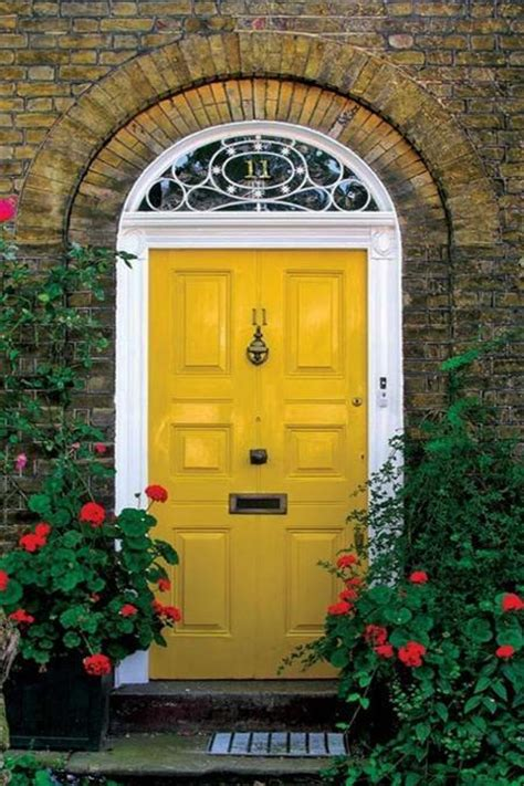 front door painted 30 front door ideas and paint colors for exterior wood