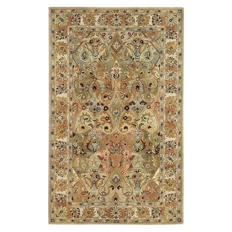 area rugs home decorators home decorators collection rhodes tan 8 ft x 11 ft area