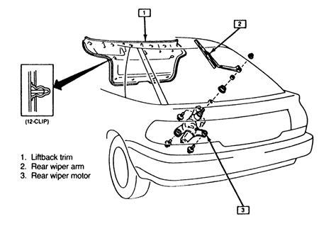 car maintenance manuals 1997 honda prelude windshield wipe control service manual replace wiper arm 1997 honda prelude replace 174 ho1200145 honda prelude 1997