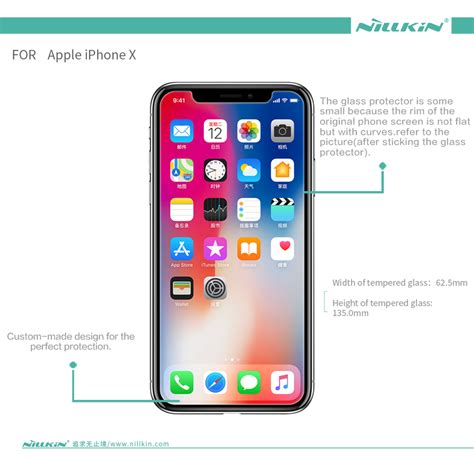 Nillkin Anti Gores Tempered Glass 9h Lenovo K5 Note nillkin apple iphone x amazing h pro anti explosion tempered glass
