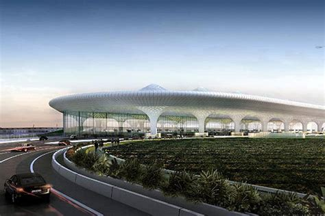 Airport Floor Plan Design by A Modern Tradition Mumbai S New Airport Opens