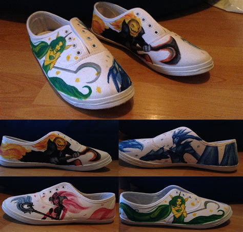 legends sneaker store league of legends painted shoes by noreydragon on