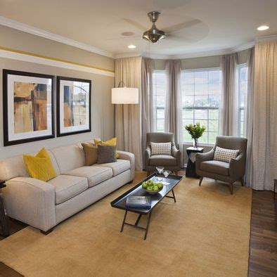 bay window furniture living room traditional with ochre image result for furniture layout narrow living room with