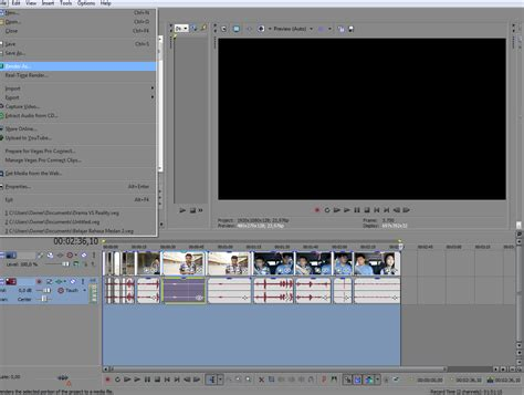 tutorial edit video dengan sony vegas pro 11 creative is my life tutorial cara merender video dengan