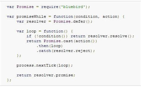 javascript tutorial while loop javascript async promise quot while loop quot