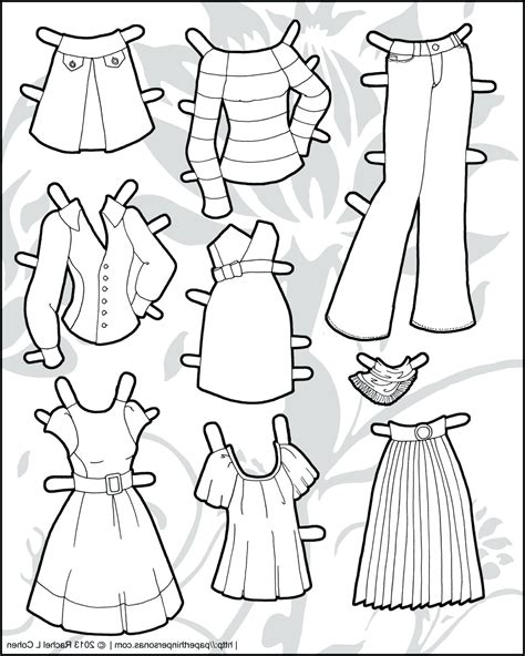 large paper doll template boy printable outline doll drawing pictures www