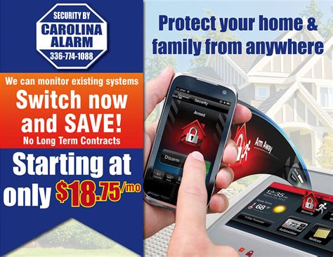 carolina alarm carolina alarm home security company