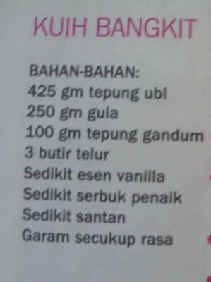 koleksi resepililymaria kuih bangkit