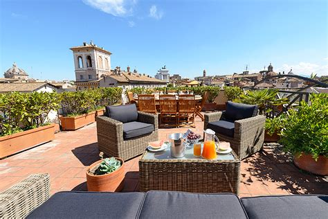 Garden Apartments Meaning The Panoramic Terrace Roof Garden With Views Of Rome Of